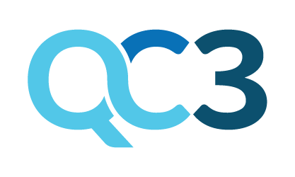 QC3 or QC Three product logo